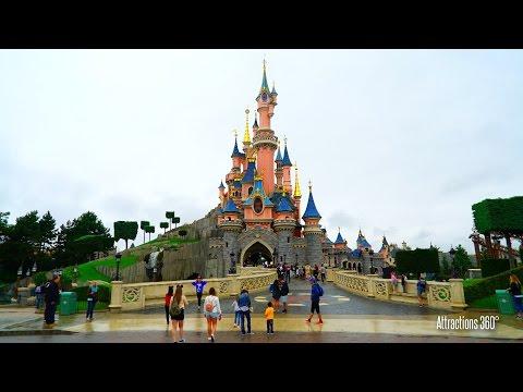 [HD] Tour of Disneyland Paris 2016. 40 Minute SteadyCam walking tour of Disneyland