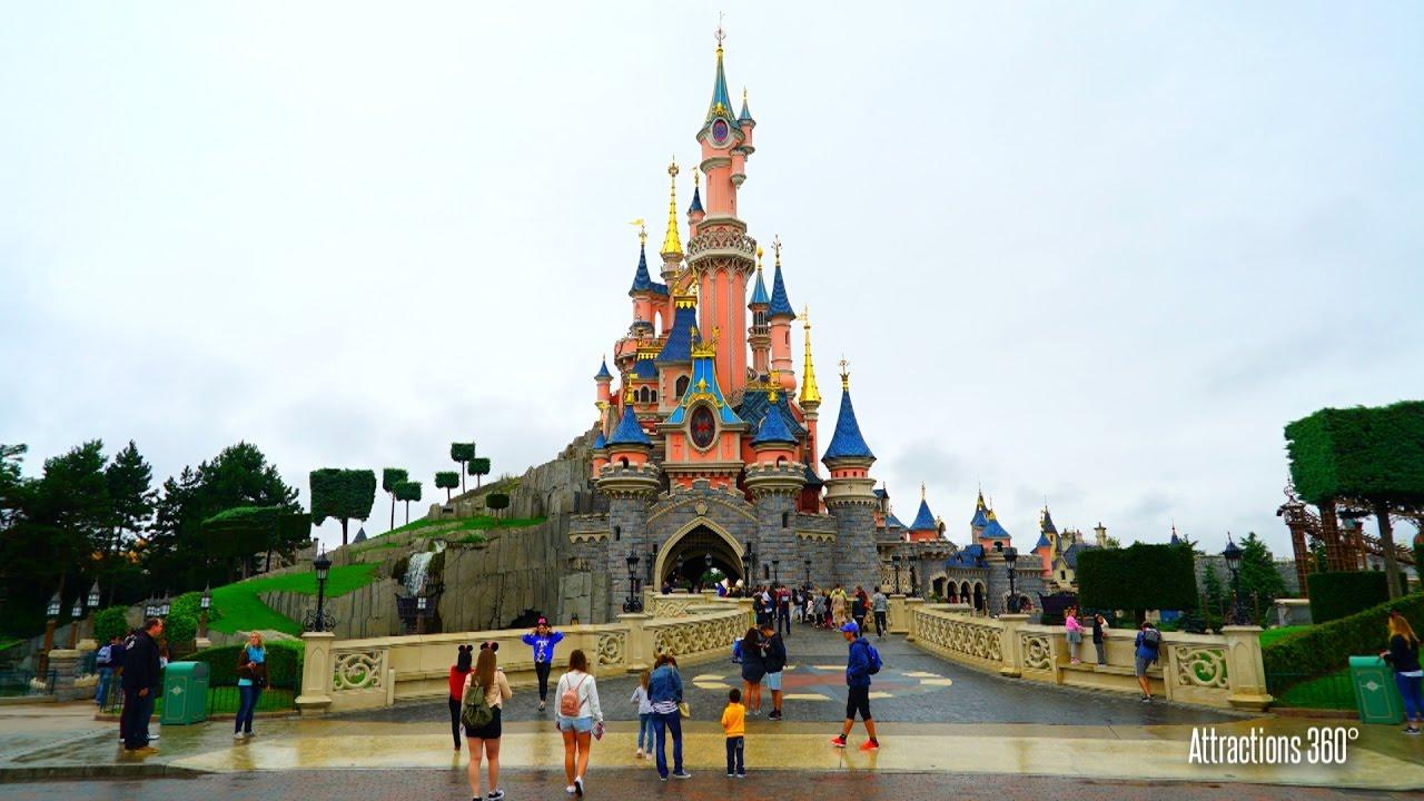 Hd Tour Of Disneyland Paris 2016 40 Minute Steadycam Walking Tour
