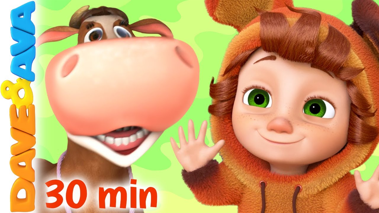 😜 Farmer Brown's Cow | Nursery Rhymes & Kids Songs | Baby Songs by Dave and Ava 😜