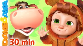 ???? Farmer Brown's Cow | Nursery Rhymes & Kids Songs | Baby Songs by Dave and Ava ????