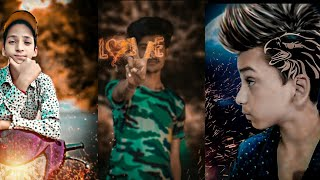 PicsArt fire Love photo editing video