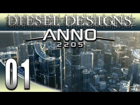 Anno 2205 Gameplay: EP1: Diesel Corporation! (Futuristic City Building Series 1080p)