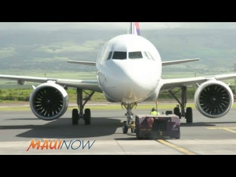 VIDEO: Hawaiian Airlines Celebrates Newest Aircraft A321neo on Maui