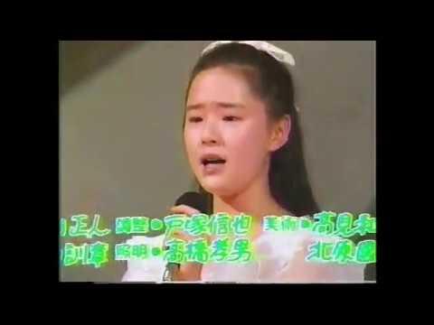 일본인가수 Tamae Sawada (沢田玉恵)  Hana no Sei (花の精) 1986