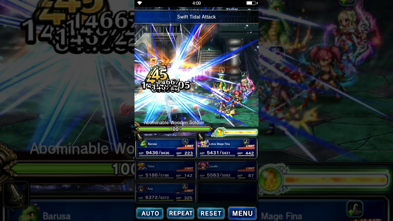 FFBE Perfect Spark Chaining on Android [patched out by Gumi]