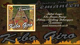 Ladrang Santi Mulyo | Pahargyan Temanten | Kebo Giro-giro Temanten