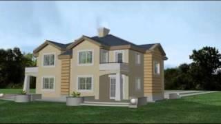 Willa Klaudia - projekt domu pracowni Horyzont