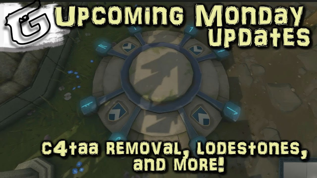 Upcoming patches - C4TAA removal, lodestones, and more