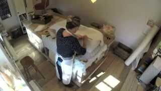 Blanket Box Upholstery Time Lapse