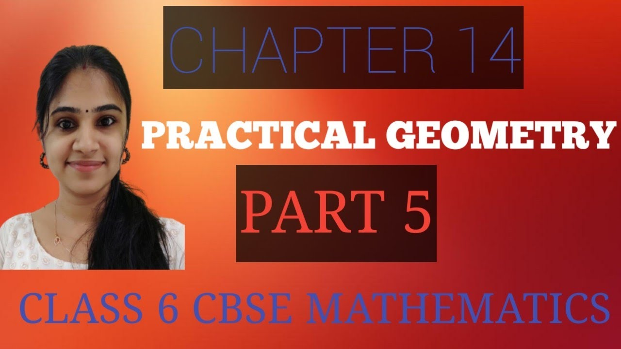 CHAPTER 14  PRACTICAL GEOMETRY  CLASS 6  PART 5  CBSE MATHEMATICS  IN MALAYALAM  EXERCISE 14.5