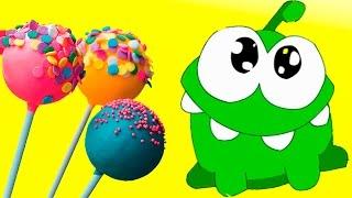 АМ НЯМ #4 – кушаем вкусные КОНФЕТЫ МОРОЖЕНОЕ и СЛАДОСТИ - детская игра про мультик #ПУРУМЧАТА