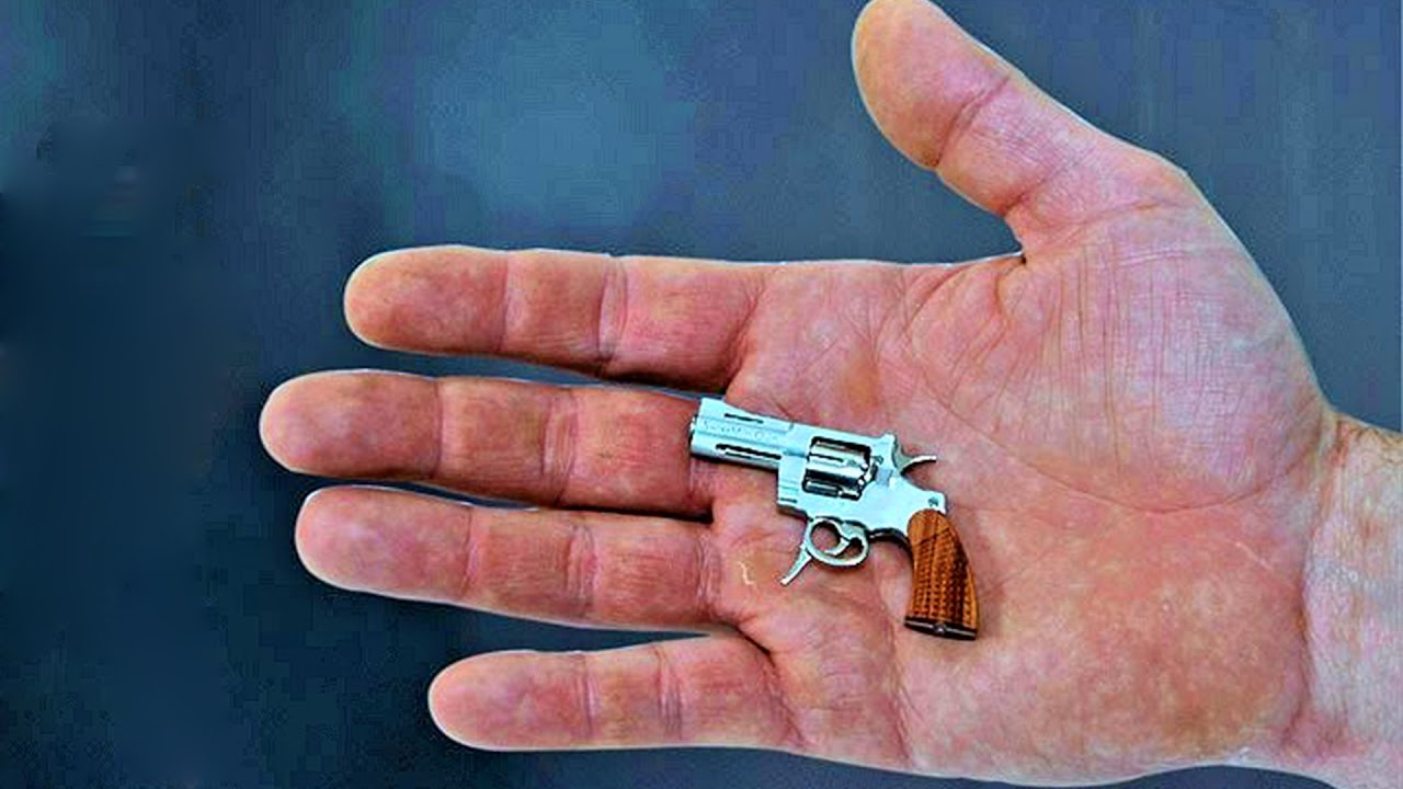10 Of The SMALLEST Things In The World (Smallest Gun ...