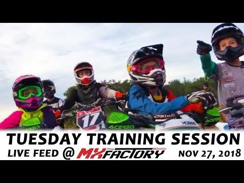 Tuesday Motocross Training LIVE FEED -...