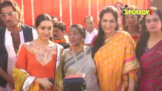 Shakti kapoor, padmini kolhapure at the inauguration of pandit pandharinath marg in juhu | spotboye
