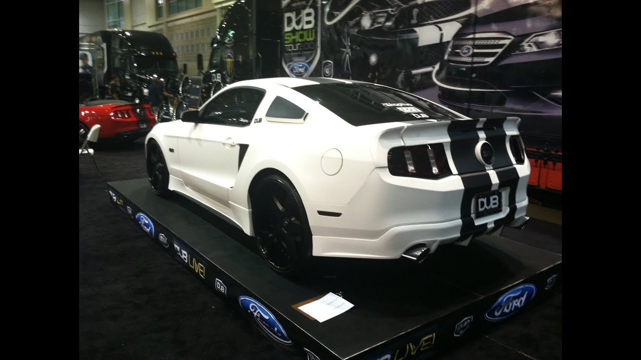 World S Only Flat White Widebody Mustang Gt 5 0 And Custom