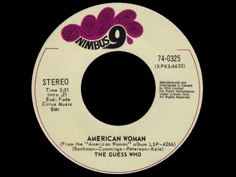 [1970] The Guess Who • American Woman