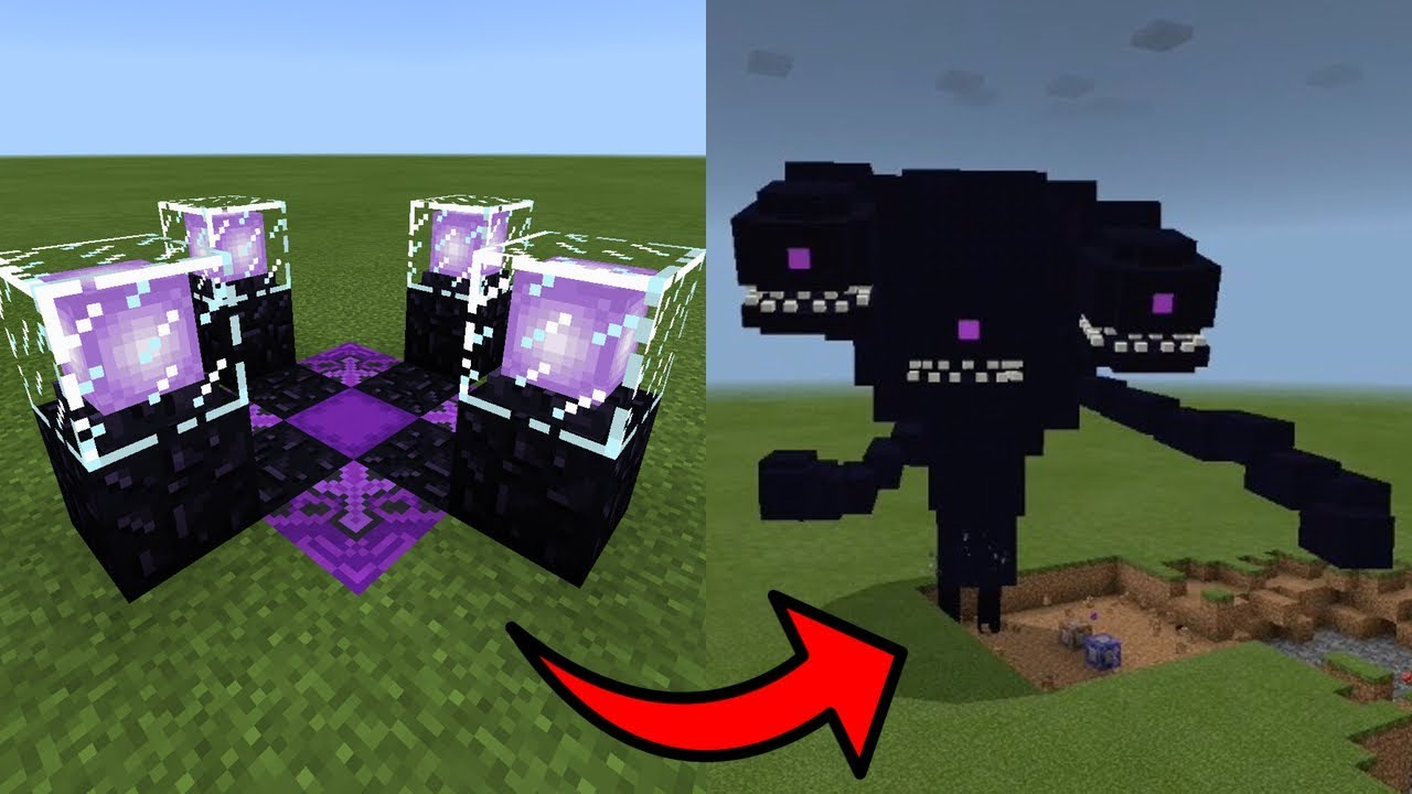 MCPE: How To Make a WITHER STORM SPAWNER