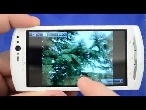 Обзор Sony Ericsson Xperia neo V от Video-shoper.ru