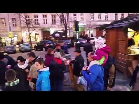 2015 Prague Wenceslas Square Christmas Market
