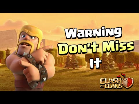⚠️WARNING⚠️ DON'T MISS THIS NEW RULES IN Clash Of Clans