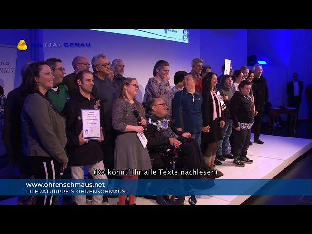 NA (JA) GENAU beim Literaturpreis Ohrenschmaus 2019