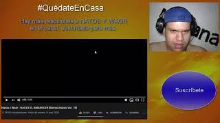 Natos y Waor - Hasta el amanecer - Reacción - UnPana