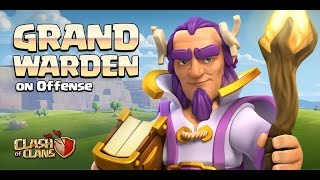 Clash of Clans | WORST Grand Warden Pathing EVER!!!! (Clan War TH 11 vs TH11)