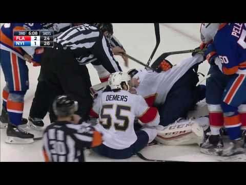 Luongo called for rare roughing penalty