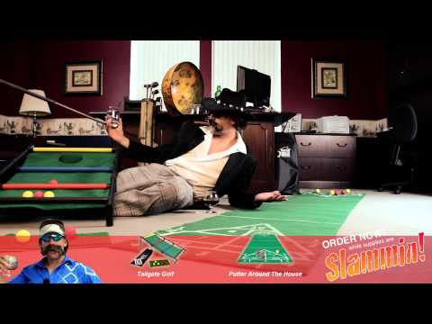 ▶ Tailgate Golf and Putter Around The House