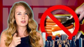 New York City Bans Hotdogs