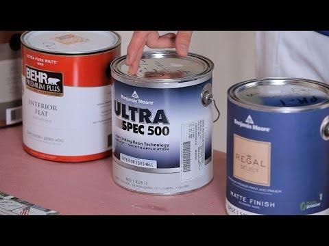 How to Buy the Right Paint | House Painting