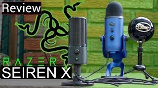 Razer Seiren X Vs Blue Yeti Vs Blue Snowball - Its Exactly What A Streamer Needs