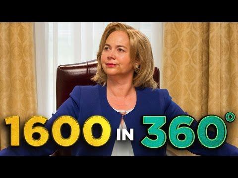 Inside Hillary's Oval Office (in 360!)
