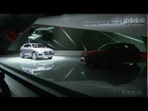 Audi Crosslane Coupé Concept Paris Motor Show 2012
