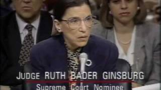 Ruth Bader Ginsburg: Supreme Court Nomination Hearings from PBS NewsHour and EMK Institute