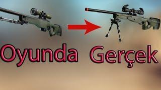 CS:GO Silahların Gerçekteki Halleri !