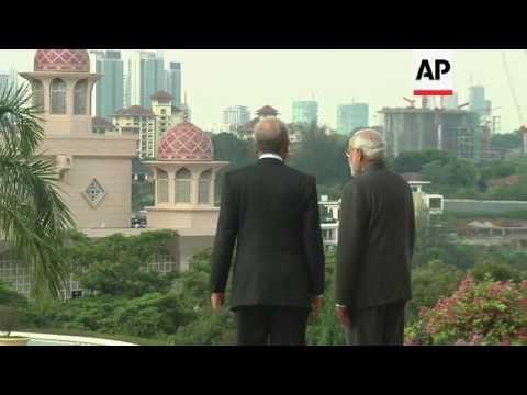 Indian PM Modi meets Malaysian PM Najib