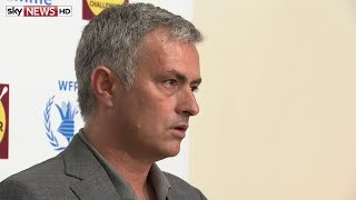 Jose Mourinho: Van Gaal is a great man