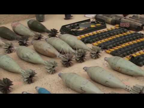 SDF captured armaments and logistics from ISIS near Tabqa dam.
