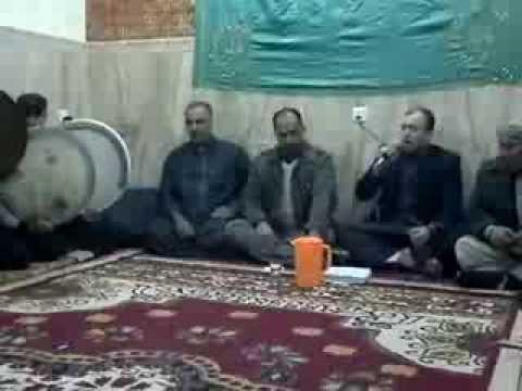 المداح محمد طالب والمداح حسن عبد الكريم مع الشاعر سعد الدليمي