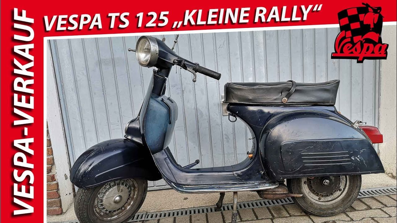 Vespa TS 125 ▼INFO▼↓ ↓ Kleine Rally ► Bj 1977 ► VNL3T ► RESTAURATIONSOBJEKT