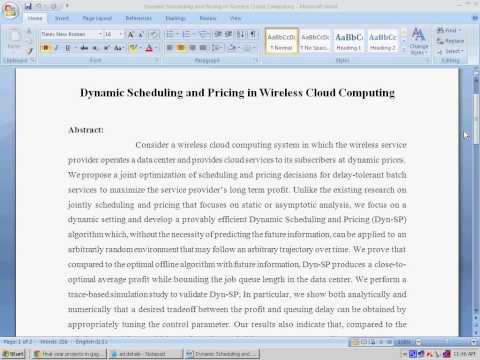 Dynamic Scheduling and Pricing in Wireless Cloud Computing