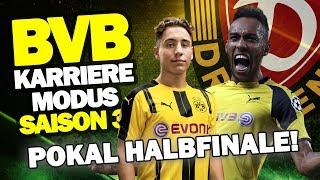 DFB POKAL HALBFINALE Gegen Dynamo Dresden! ♕ FIFA 17 Karrieremodus BVB S3 #51
