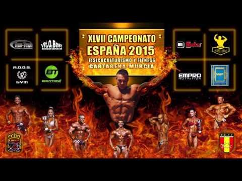 Proyección Campeonato de España Fisico Culturismo y Fitness 2015