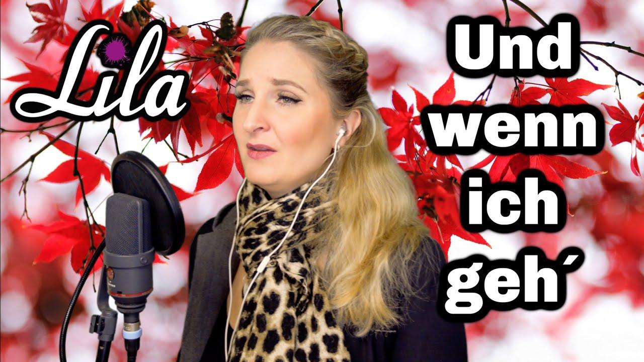 Und wenn ich geh - Andrea Berg -Lied zum Abschied, Beerdigung, Trauerfeier - Trauerlied - Lila Cover