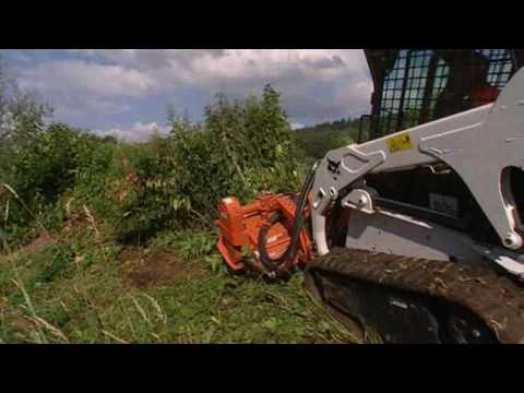Bobcat Flail Cutter Attachment Bobcat Equipment Youtube