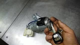 Заклинило замок зажигания Toyota Corolla