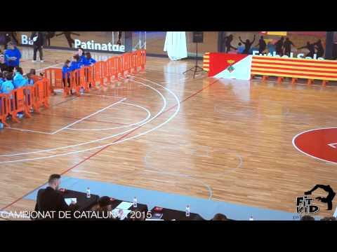 Campionat Catalunya 2015 - Dance Show Solo Junior SEMIFINALS