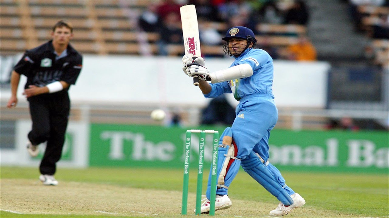 sachin tendulkar 300th odi | 72 off 27 balls vs new zealand 2002