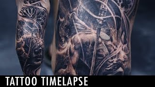 Tattoo Timelapse - Tony Mancia